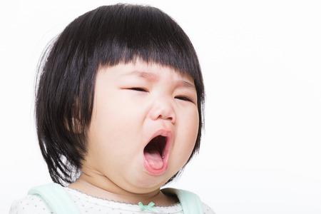 Asien-Baby Husten