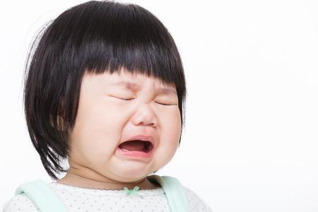 Asia bambina che piange