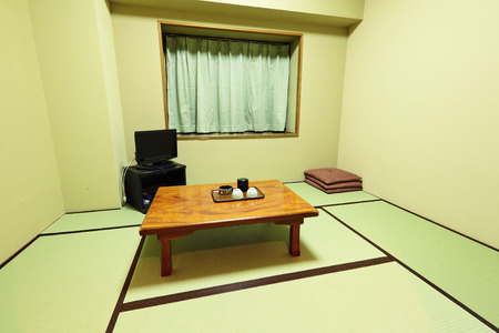 Interior of traditional japanese home photo