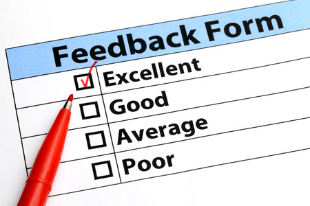 Feedback form photo
