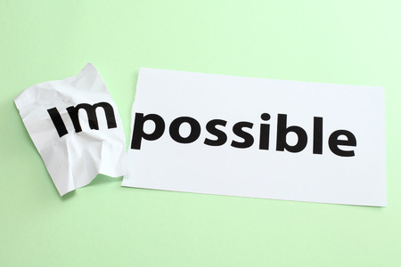 overcoming adversity: Impossible change to possible