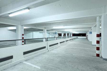 carpark: Indoor carpark Editorial