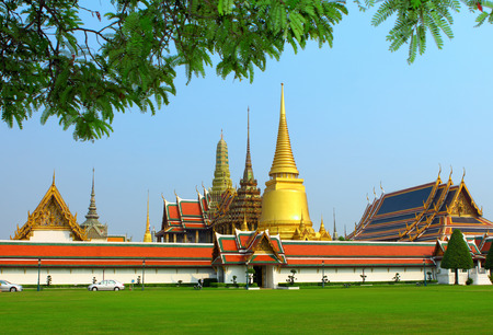 Grand palace in Bangkok photo