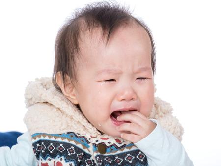 Aisa baby crying photo