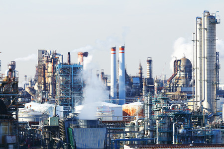 exhaust gases: Industrial plant