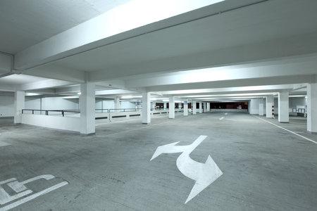 carpark: Empty parking lot