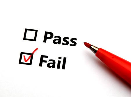Pass or fail photo