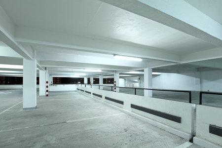 new car lots: Interior of parking lot