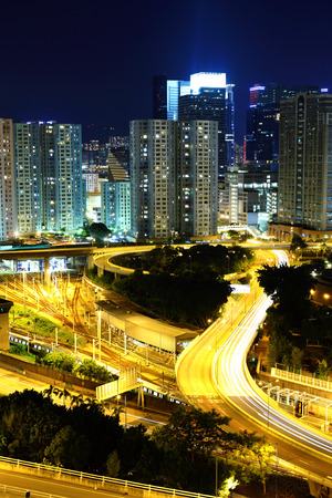 Hong Kong residential district photo
