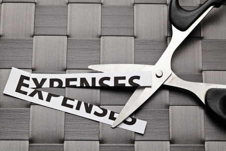 Expenses cut photo