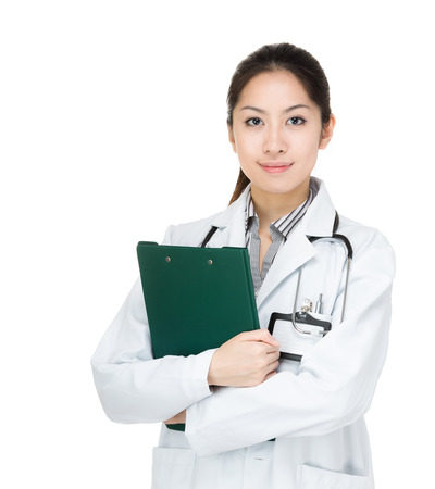 Asia female doctor photo