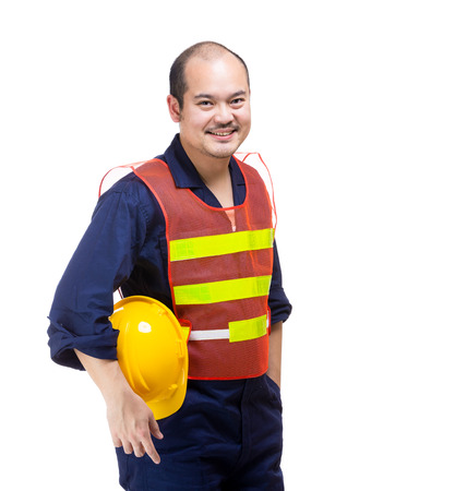 Asia construction worker photo