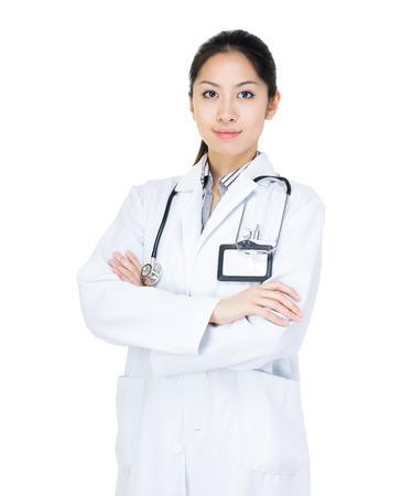 Asia female doctor photo