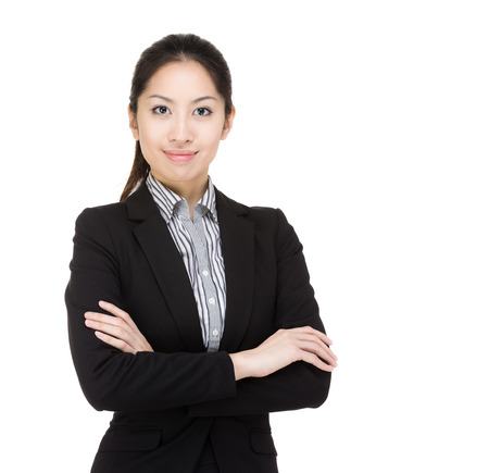 Asia businesswoman portrait photo