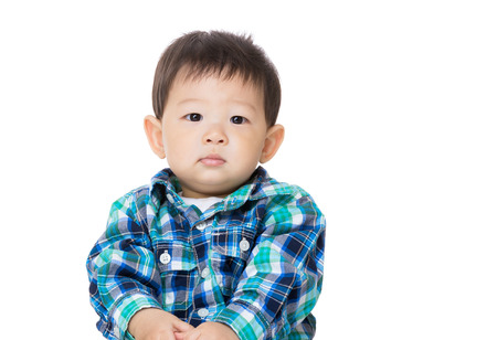 portarit: Asian baby boy portarit Stock Photo