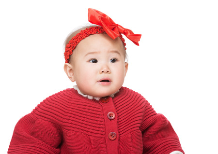 Asian baby girl photo