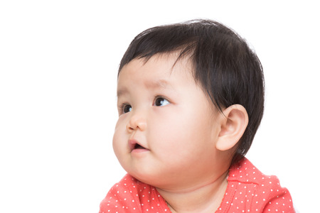 beiseite: Asien Baby Girl suchen beiseite