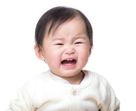 asian baby girl: Asian baby girl crying