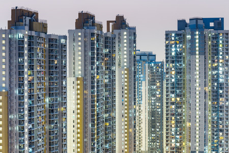 Public Housing Apartment in Hong Kong photo