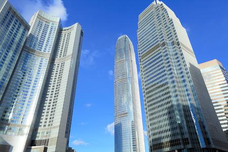 Modern city skyline photo
