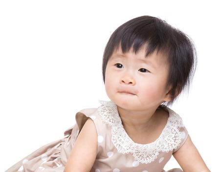 asian baby girl: Asian baby girl isolated