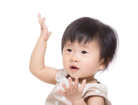 asian baby girl: Asian baby girl dance