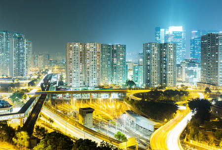 overpopulation: Hong Kong residential building Editorial
