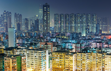 Packed apartment in Hong Kong photo
