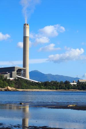 coal fired: Coal fired power station in Hong Kong Editorial