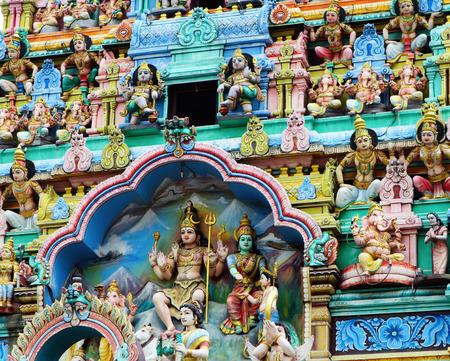 mariamman: Sri Mariamman Temple in Chinatown, Singapore  Stock Photo