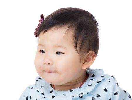 beiseite: Baby suchen beiseite Lizenzfreie Bilder
