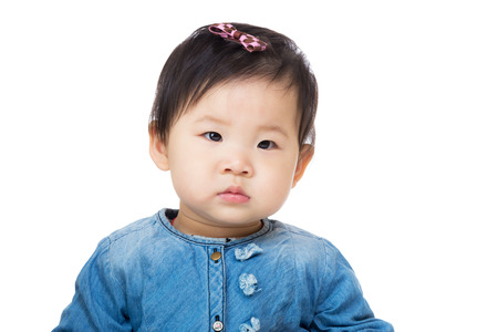 Cute little baby photo