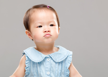 Pouting Baby Angry Baby Pouting Photo