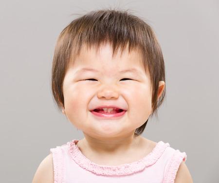 Sonriente bebé Foto de archivo - 28668426