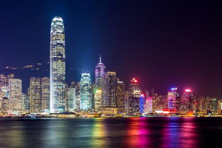 Hong Kong night photo