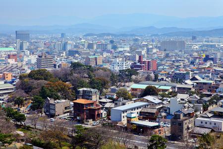 Wakayama cityscape in Japan photo