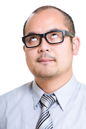 speechless: Speechless business man Stock Photo