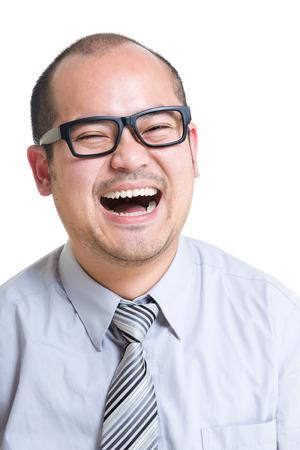 vejez feliz: Feliz hombre de negocios