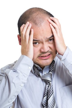 bald man: Empresario destacó
