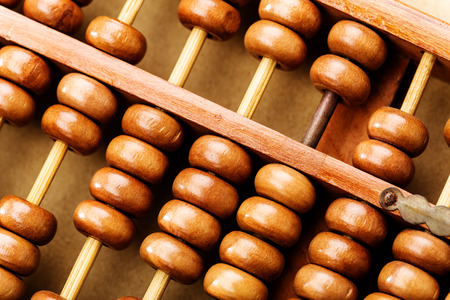 Chinese traditional abacus