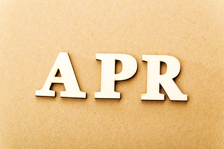 Wooden text for April photo