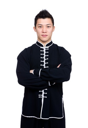 Professional chinese kung fu teacher photo