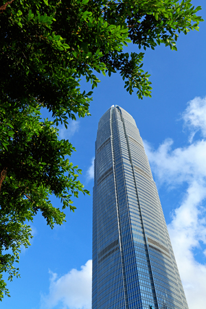 Financial business center of Hong Kong photo