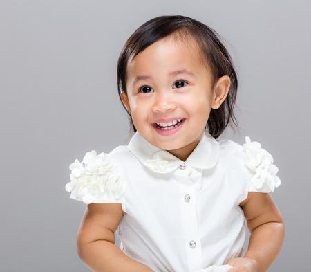 Happy baby photo