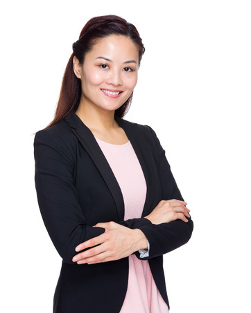 Asian business woman photo