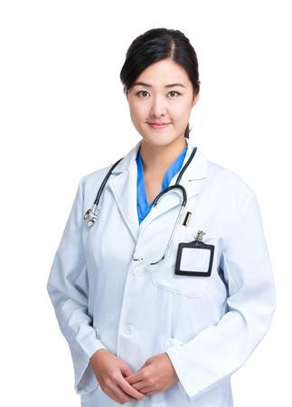 Asian female doctor photo