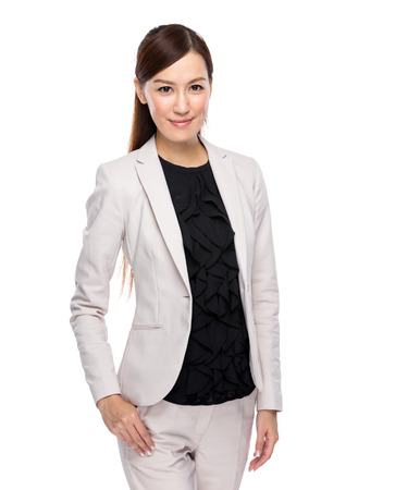 businesswoman suit: Asian young business woman in suit