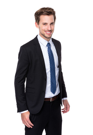 the well groomed: Businessman Stock Photo