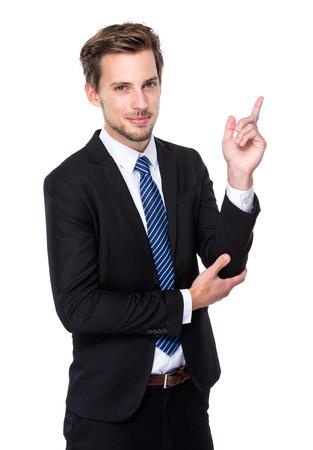 Caucasian Businessman photo