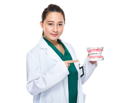 Asian dentist photo